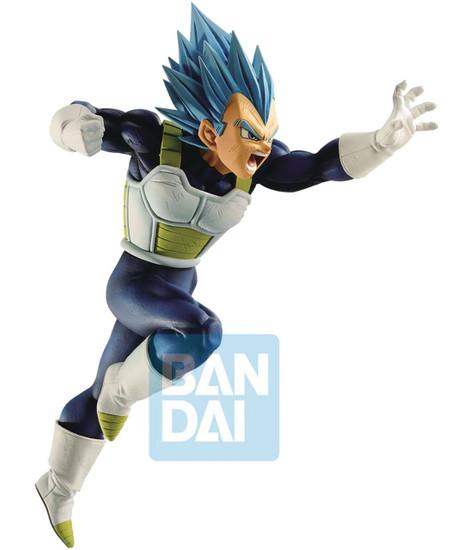 Z-Battle Dragon Ball Z: Buyu Retsuden Super Saiyan Blue Vegeta 6.1-Inch Collectible PVC Figure