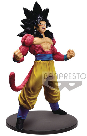 Dragon Ball GT Blood of Saiyans Super Saiyan 4 Son Goku 6.3-Inch Collectible PVC Figure Vol.3 [Special Version]
