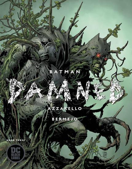 DC Black Label Batman Damned #3 of 3 Comic Book [Jim Lee Variant Cover]