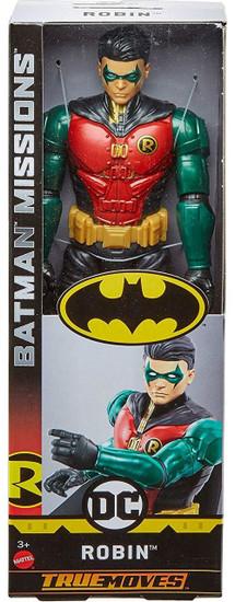 DC Batman Missions Robin Action Figure [True Moves]
