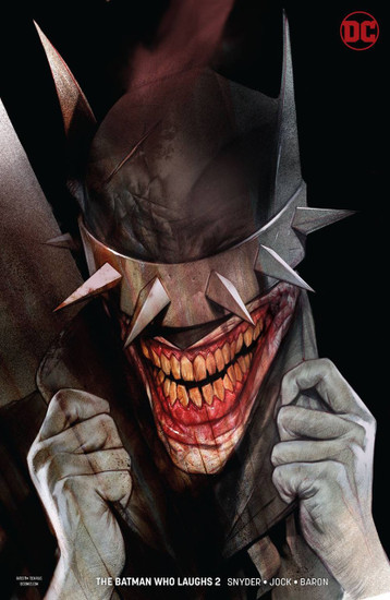 DC The Batman Who Laughs #2 Comic Book [Oliver Variant Cover]