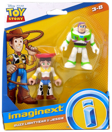 Fisher Price Disney / Pixar Imaginext Toy Story Buzz Lightyear & Jessie Figure Set