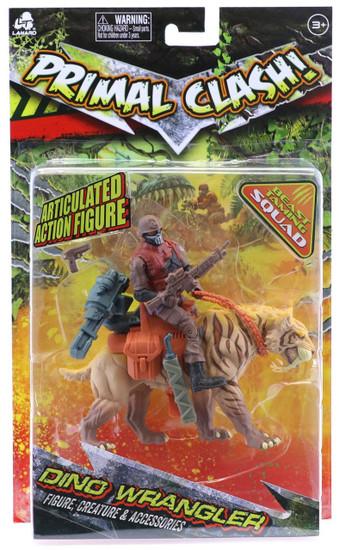 Primal Clash Dino Wrangler Sabertooth Tiger Exclusive Action Figure
