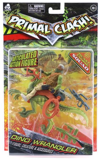 Primal Clash Dino Wrangler Raptor Exclusive Action Figure