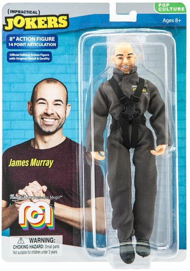 "Impractical Jokers Pop Culture James ""Murr"" Murray Action Figure"