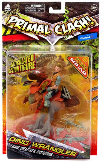Primal Clash Dino Wrangler Titanis Exclusive Action Figure