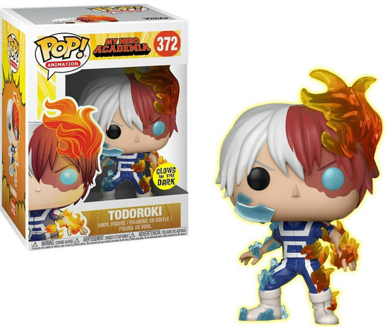 Funko My Hero Academia POP! Animation Todoroki Exclusive Vinyl Figure #372 [Glows-in-the Dark]