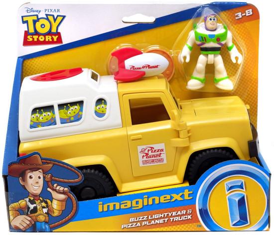 Fisher Price Disney / Pixar Imaginext Toy Story Buzz Lightyear & Pizza Planet Truck Vehicle & Figure