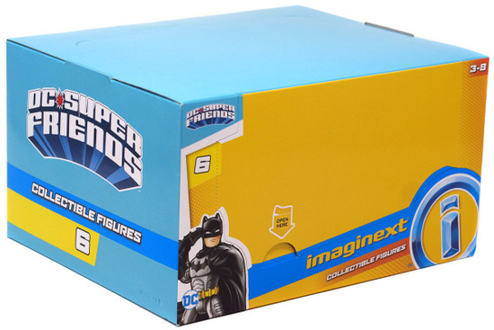 Fisher Price DC Super Friends Imaginext Series 6 Collectible Figure Mystery Box [16 Packs]