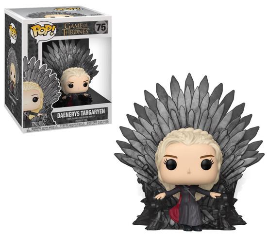 Funko Game of Thrones POP! TV Daenerys Targaryen Deluxe Vinyl Figure #75 [Sitting On Throne]