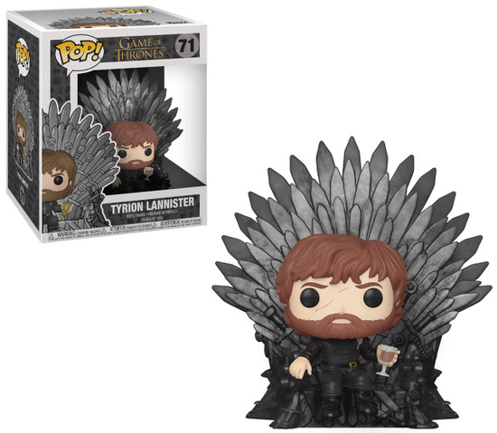 Funko Game of Thrones POP! TV Tyrion Lannister Deluxe Vinyl Figure #71 [Iron Throne]