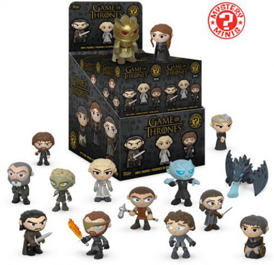 Funko Mystery Minis Game of Thrones Series 4 Mystery Box [12 Packs]