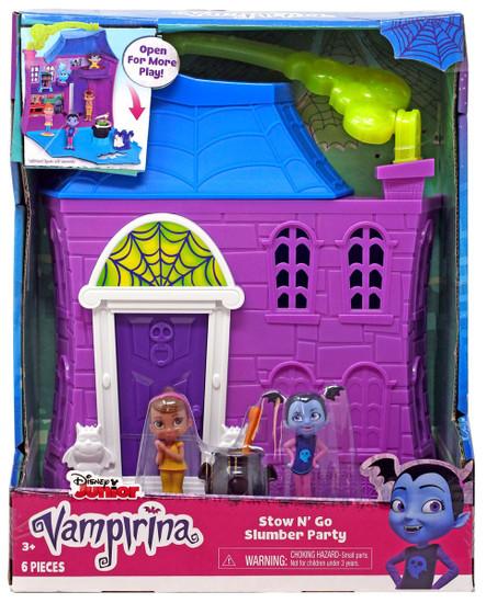 Disney Junior Vampirina Stow N' Go Slumber Party Playset