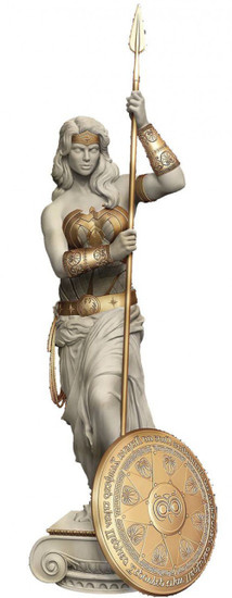 DC Wonder Woman: Princess of Themyscira Statue 12-Inch Statue