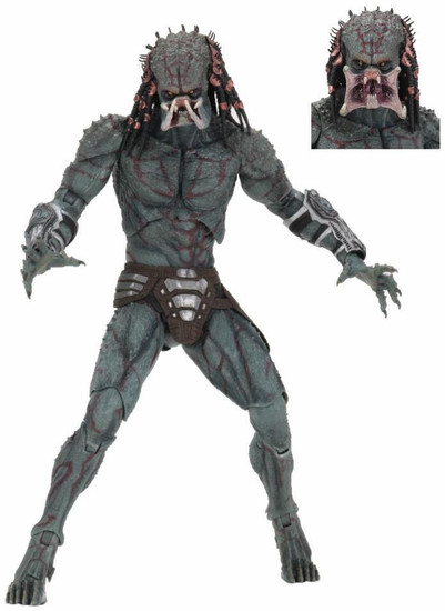 NECA 2018 Movie Armored Assassin Predator Deluxe Action Figure