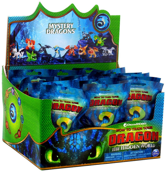 How to Train Your Dragon The Hidden World Mystery Dragons Mystery Box [24 Packs]