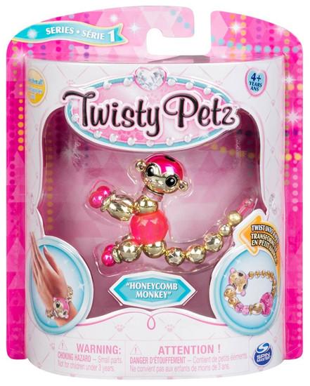 Twisty Petz Honeycomb Monkey Bracelet