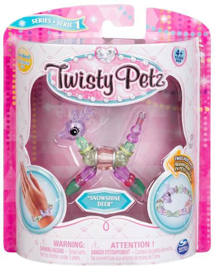 Twisty Petz Snowshine Deer Bracelet