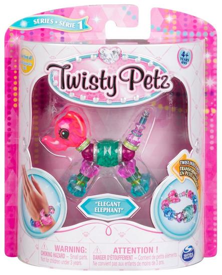 Twisty Petz Elegant Elephant Bracelet