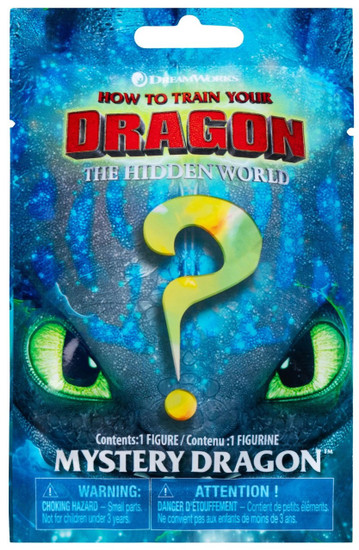 How to Train Your Dragon The Hidden World Mystery Dragons Mystery Pack