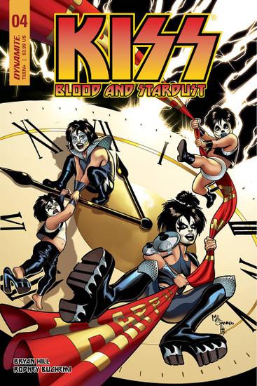 Dynamite Entertainment Kiss Blood Stardust #4 Comic Book [Cover C]