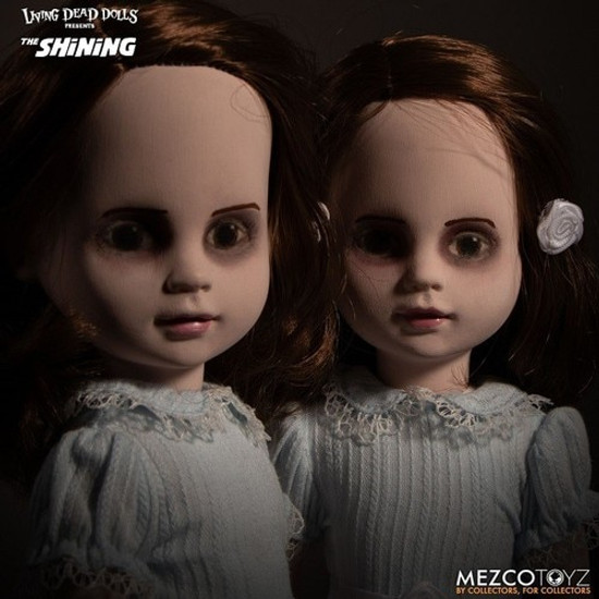 Living Dead Dolls The Shining Talking Grady Twins 10-Inch Doll 2-Pack [with Sound!]