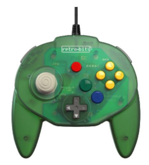 Retro-Bit Tribute64 N64 Connector Controller [Forest Green]