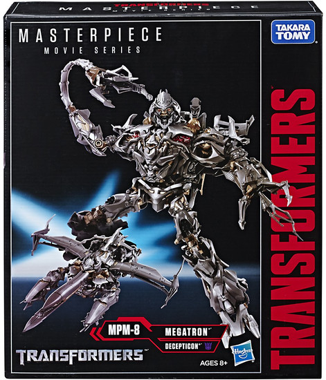 Transformers Masterpiece Movie Series Megatron Action Figure MPM-8