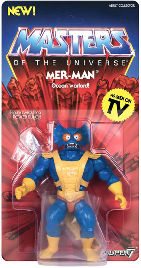 Masters of the Universe Vintage Series 3 Mer-Man Action Figure