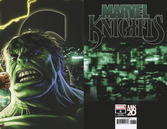 Marvel Comics Marvel Knights #6 of 6 Comic Book [Andrews Connecting Variant]