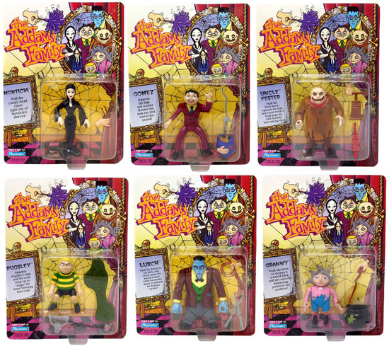 The Addams Family Action Figure Set [Morticia, Gomez, Pugsley, Lurch, Uncle Fester & Granny]
