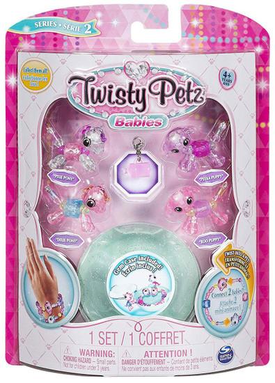 Twisty Petz Babies Series 2 Pixie Pony, Dixie Pony, Boo Puppy & Peeka Puppy 4-Pack