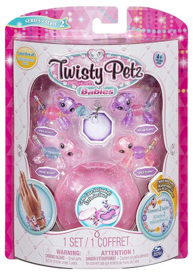 Twisty Petz Babies Series 2 Ping Koala, Pong Koala, Sugar Puppy & Spice Puppy 4-Pack
