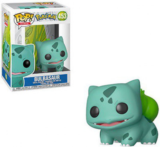 Funko Pokemon POP! Games Bulbasaur Vinyl Figure #453