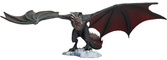 """McFarlane Toys Game of Thrones Drogon Deluxe Action Figure [13"""" Wingspan!]"""