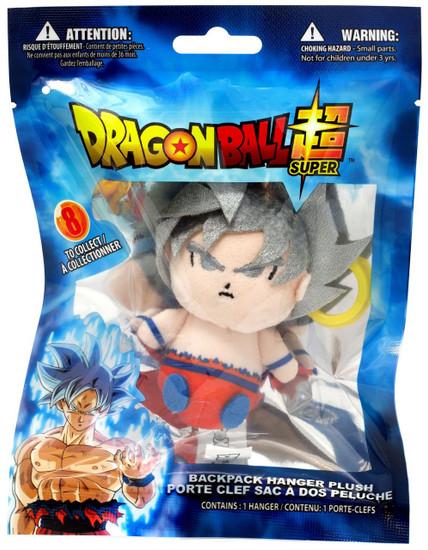 Dragon Ball Super Plush Hanger Ultra Instinct Goku 4-Inch