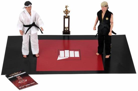 NECA The Karate Kid (1984) Daniel & Johnny Clothed Action Figure 2-Pack [Tournament] (Pre-Order ships September)