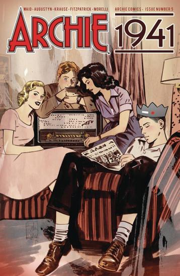 Archie Comic Publications Archie 1941 #5 Comic Book [Ordway Cover C]