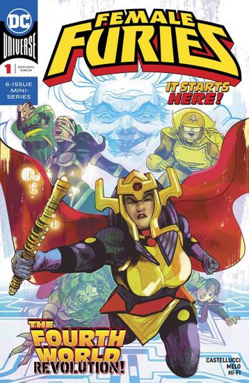 DC Female Furies #1 Comic Book