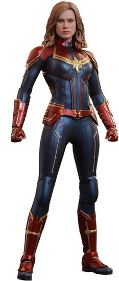 Movie Masterpiece Captain Marvel Diecast Collectible Figure [Regular Version]