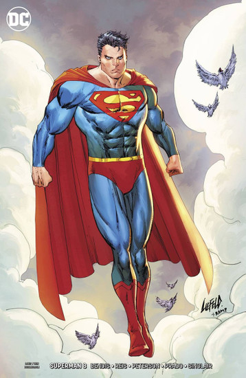 DC Superman #8 Comic Book [Rob Liefeld Variant Cover]