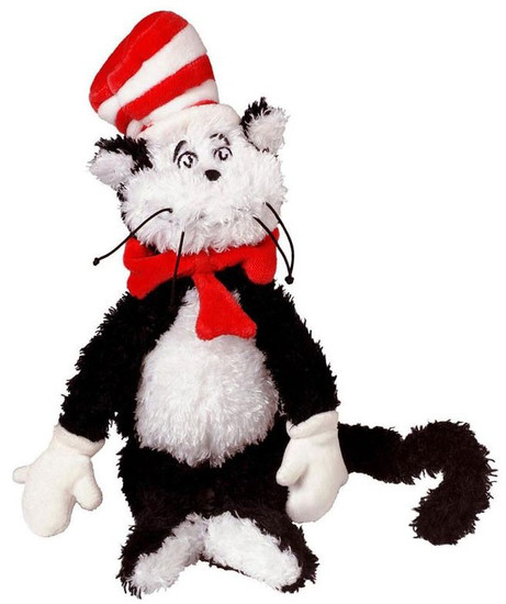 Dr. Seuss The Cat in the Hat 12-Inch Plush