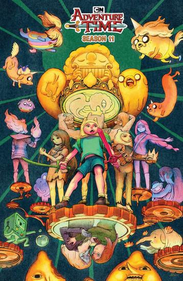 KaBOOM! Adventure Time #5 Season 11 Comic Book [Benbassat Variant Cover]