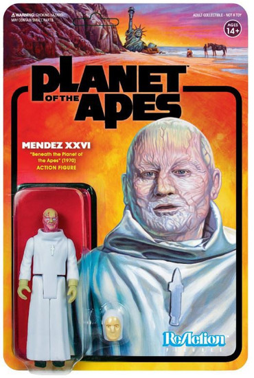 ReAction Planet of the Apes Series 2 Mendez XXVI Action Figure