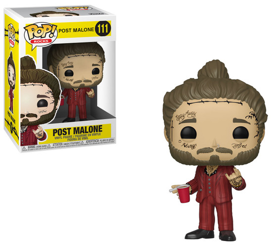 Funko POP! Rocks Post Malone Vinyl Figure #111