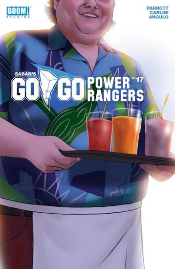 Boom Studios Go Go Power Rangers #17 Beyond The Grid Comic Book [Cover B]