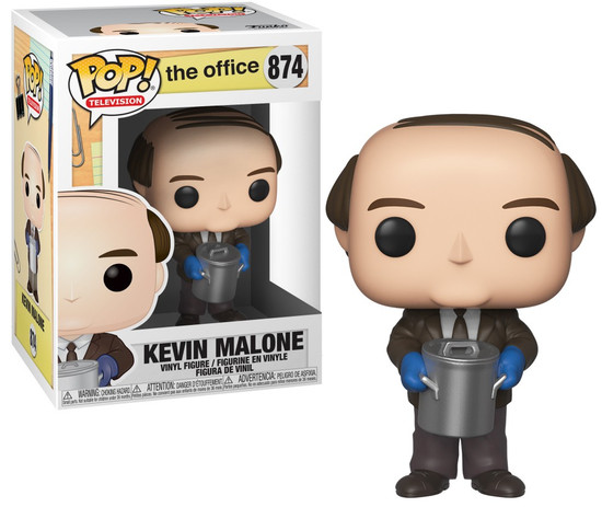 Funko The Office POP! TV Kevin Malone Vinyl Figure #874 [With Chili]