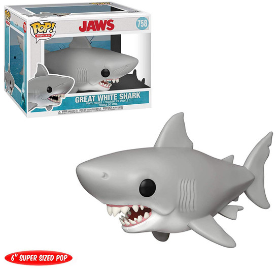 Funko Jaws POP! Movies Great White Shark 6-Inch Vinyl Figure #758 [Jaws]