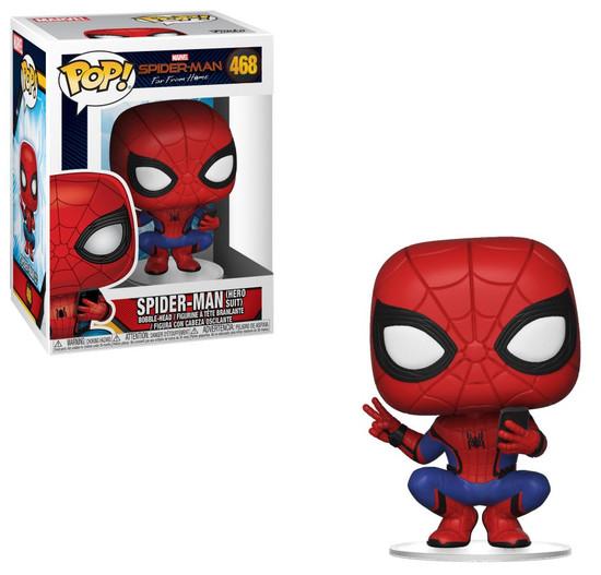 Funko Spider-Man Far From Home POP! Marvel Spider-Man Vinyl Figure #468 [Hero Suit]