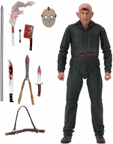 NECA Friday the 13th Part 5: A New Beginning Roy Burns Action Figure [Ultimate Version]